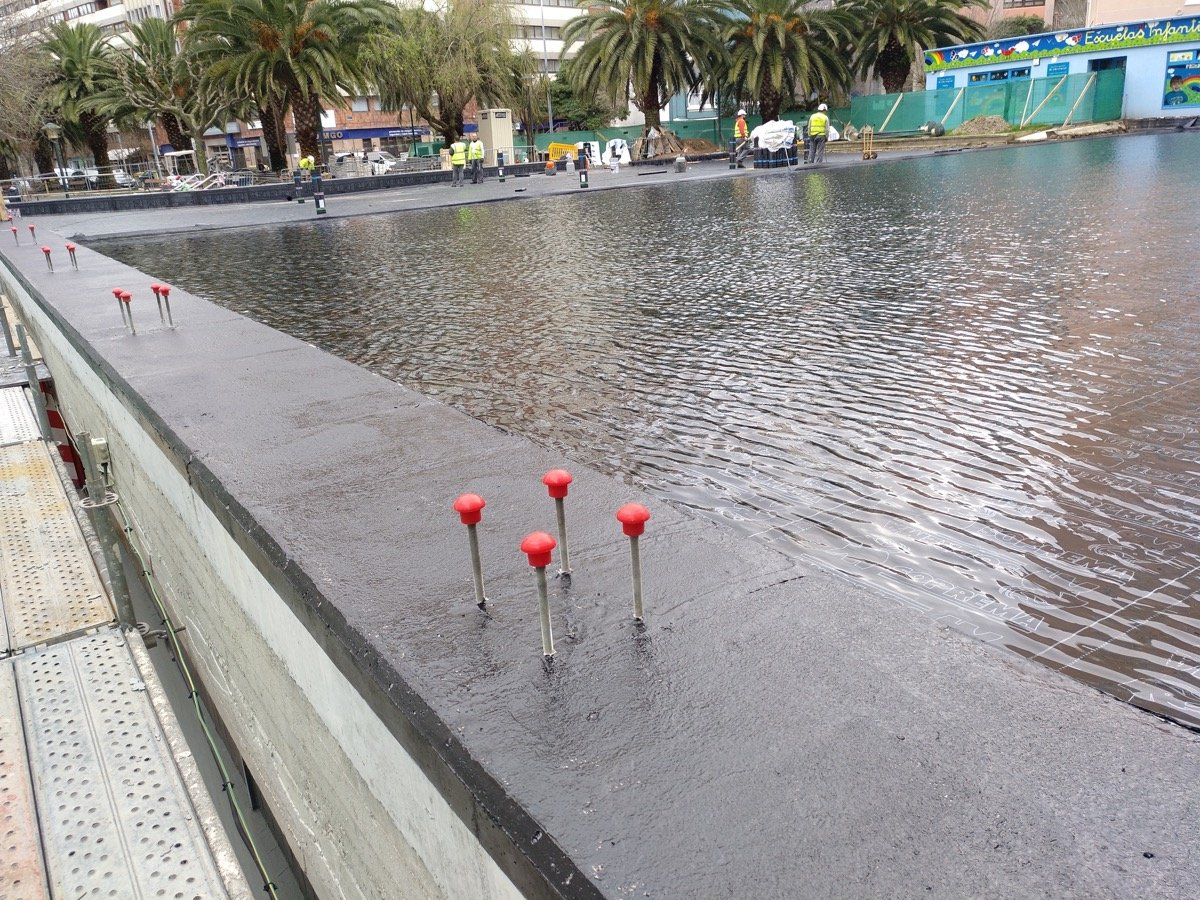 Prueba estanqueidad cubierta inundable 1