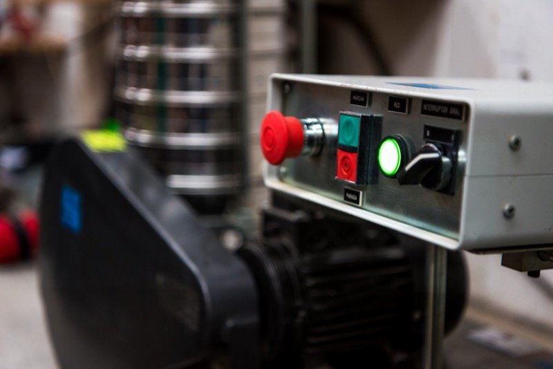 Tamizadora automatica 3C Calidad y Control
